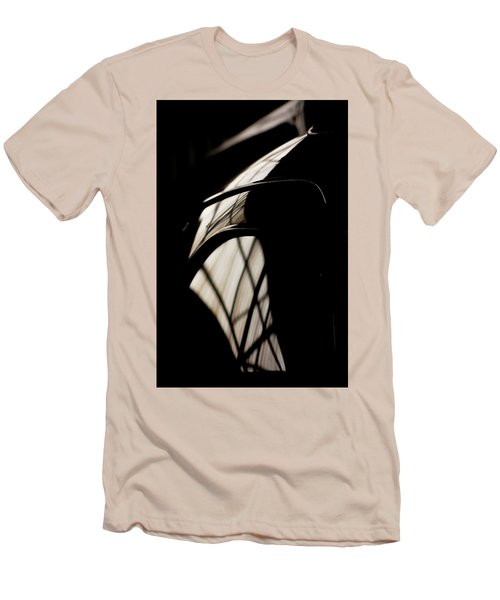Men's T-Shirt (Slim Fit) featuring the photograph Shapes by Paul Job