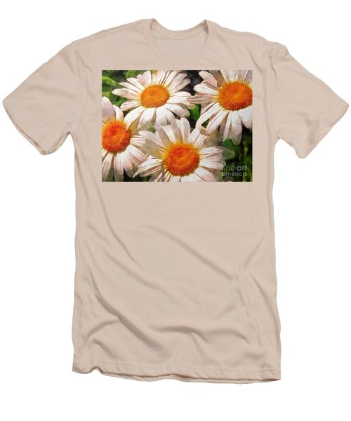 Shasta Daisies 2015 Men's T-Shirt (Athletic Fit)