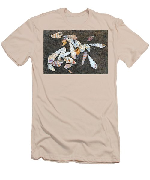 Shells From The Sea Of Galilee Men's T-Shirt (Athletic Fit)