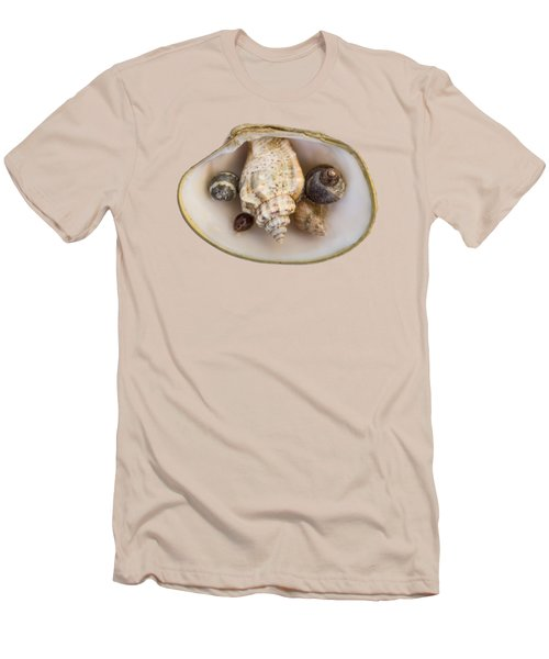 Shells Within A Sea Shell Men's T-Shirt (Athletic Fit)