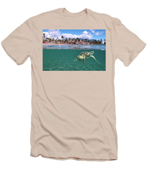 Sheraton Maui Men's T-Shirt (Slim Fit)