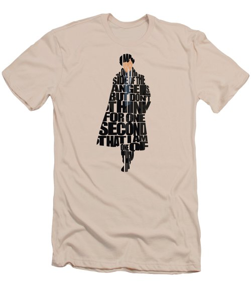 Sherlock - Benedict Cumberbatch Men's T-Shirt (Athletic Fit)