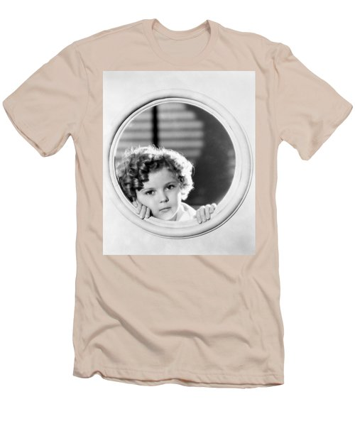Shirley Temple (1928-2014) Men's T-Shirt (Slim Fit) by Granger