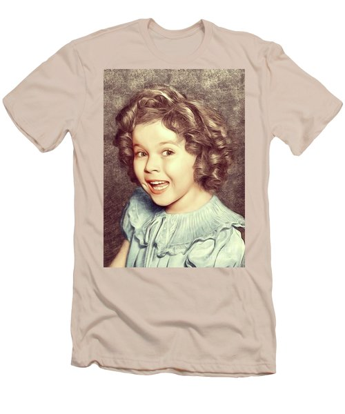 Shirley Temple, Actress Men's T-Shirt (Athletic Fit)