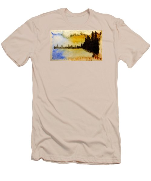 Shoreline 2 Men's T-Shirt (Slim Fit) by R Kyllo