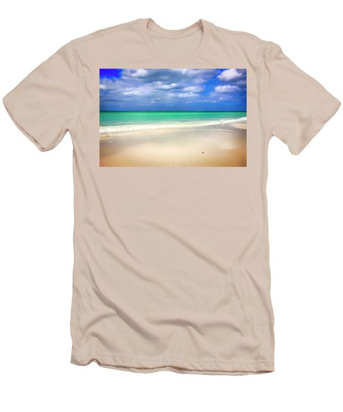 Siesta Key Beach Florida  Men's T-Shirt (Athletic Fit)