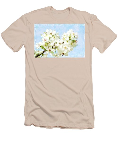 Signs Of Spring Men's T-Shirt (Slim Fit) by Inspirational Photo Creations Audrey Woods