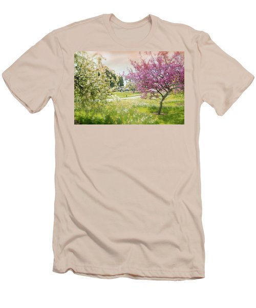 Men's T-Shirt (Slim Fit) featuring the photograph Silent Wish You Make by Diana Angstadt