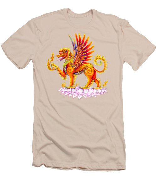 Singha Winged Lion Men's T-Shirt (Athletic Fit)