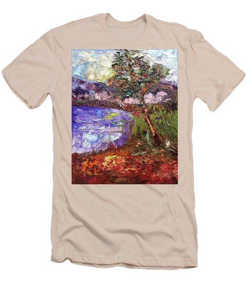 Single Men's T-Shirt (Slim Fit) by Janet Garcia