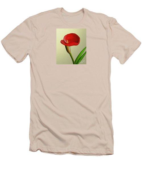 Single Pose Men's T-Shirt (Slim Fit) by Rand Herron