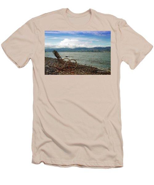 Sit Back And Enjoy Men's T-Shirt (Athletic Fit)