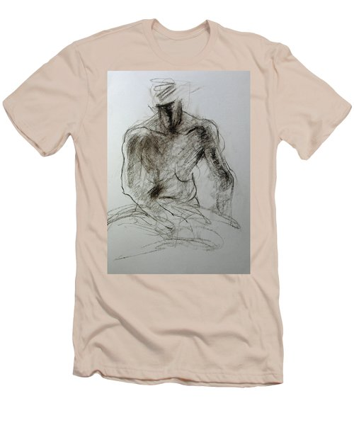 Sketch Of Torso Men's T-Shirt (Athletic Fit)