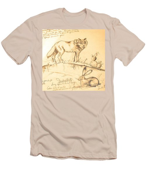Sketches For Sale Men's T-Shirt (Slim Fit)