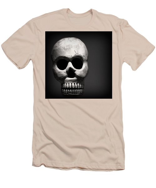 Skull Men's T-Shirt (Slim Fit) by Joseph Skompski