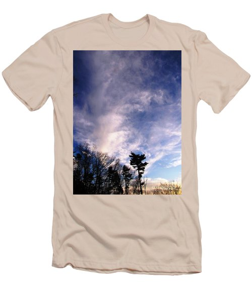 Sky Study 2 3/11/16 Men's T-Shirt (Slim Fit) by Melissa Stoudt