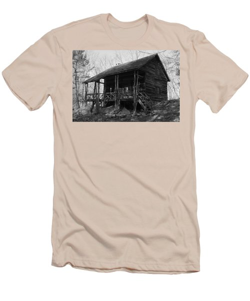 Men's T-Shirt (Slim Fit) featuring the photograph Slabsides In Spring by Jeff Severson