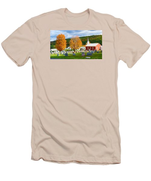 Men's T-Shirt (Slim Fit) featuring the photograph Sleeping Peacefully by Jeanette Oberholtzer