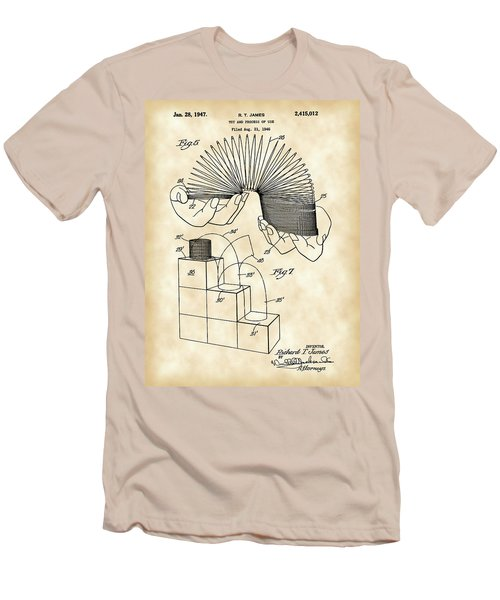 Slinky Patent 1946 - Vintage Men's T-Shirt (Athletic Fit)