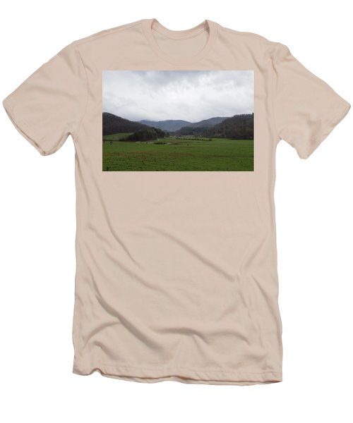 Smokey Mountains 3 Men's T-Shirt (Athletic Fit)