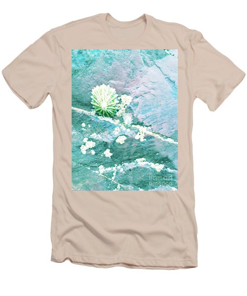 Men's T-Shirt (Athletic Fit) featuring the photograph Soft Shell by Rebecca Harman