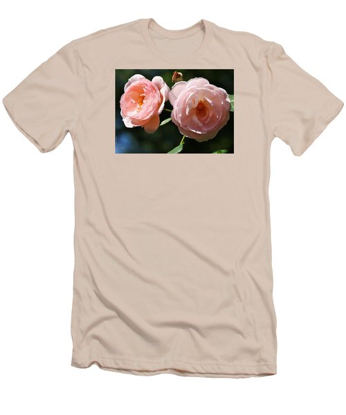 Men's T-Shirt (Slim Fit) featuring the photograph Softly Pink by Al Fritz
