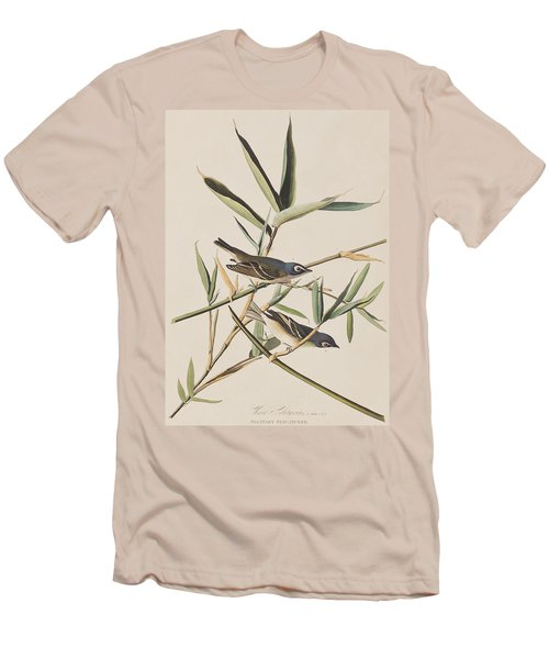Solitary Flycatcher Or Vireo Men's T-Shirt (Athletic Fit)