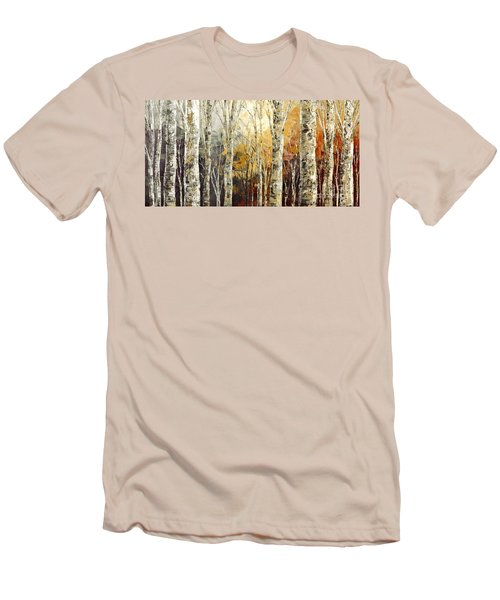 Solitudes Of Twilight Men's T-Shirt (Slim Fit) by Tatiana Iliina