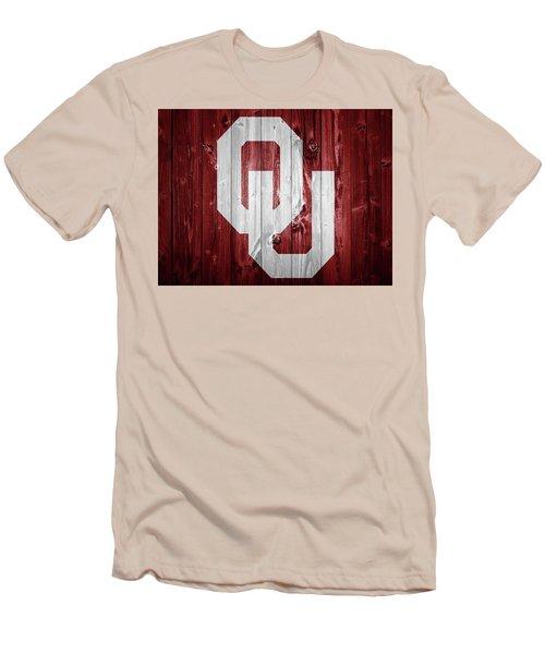 Sooners Barn Door Men's T-Shirt (Slim Fit) by Dan Sproul