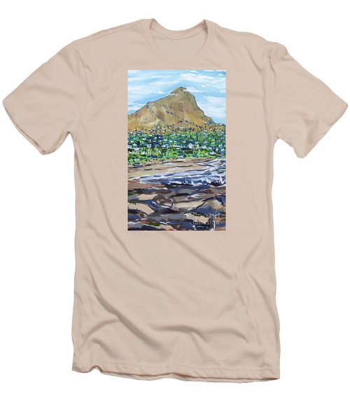 South African Coastline Part Two Men's T-Shirt (Athletic Fit)