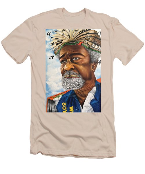 Soyinka An African Literary Icon Men's T-Shirt (Athletic Fit)