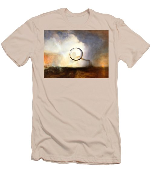 Sphere I Turner Men's T-Shirt (Slim Fit) by David Bridburg