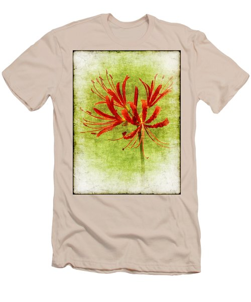 Spider Lily Men's T-Shirt (Athletic Fit)