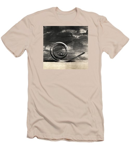 Men's T-Shirt (Slim Fit) featuring the photograph Spiral And Ball by Andrey  Godyaykin