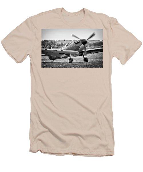 Spitfire Mk1 Men's T-Shirt (Slim Fit) by Ian Merton