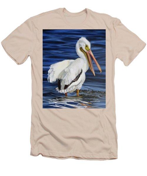 Splendor At Half Moon Island Men's T-Shirt (Slim Fit) by Phyllis Beiser