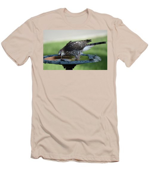 Water And The Hawk Men's T-Shirt (Athletic Fit)