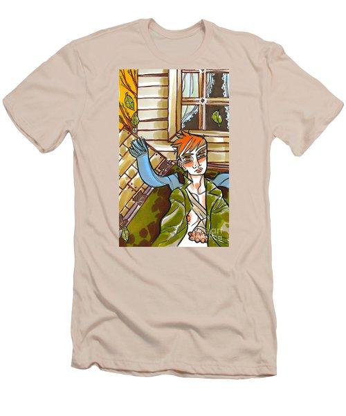 Autumnal Awakening Men's T-Shirt (Athletic Fit)