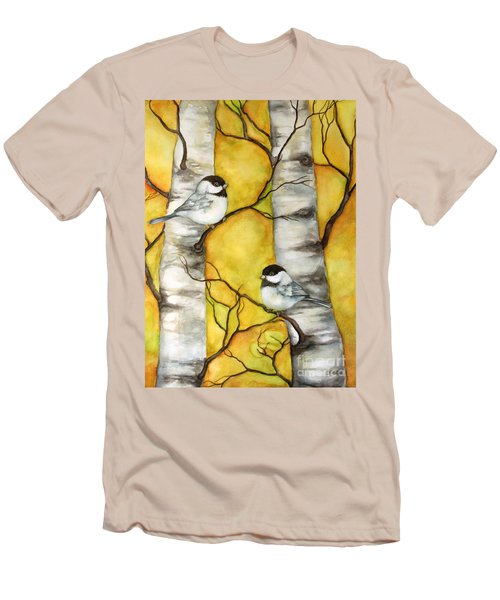 Spring Men's T-Shirt (Slim Fit) by Inese Poga
