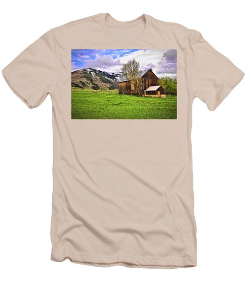 Spring Is All Ways A Good Time Of The Year Men's T-Shirt (Slim Fit) by James Steele