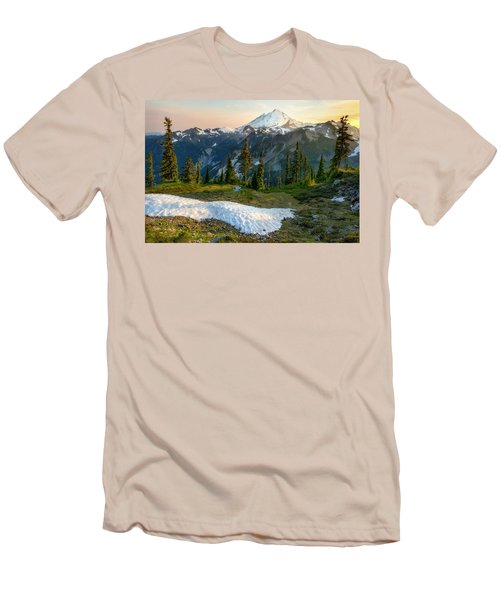 Men's T-Shirt (Slim Fit) featuring the photograph Spring Melt by Ryan Manuel