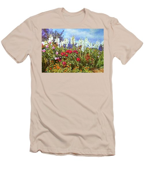 Men's T-Shirt (Slim Fit) featuring the photograph Spring by Munir Alawi