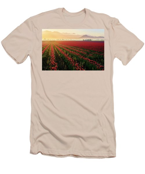 Men's T-Shirt (Slim Fit) featuring the photograph Spring Palette by Ryan Manuel