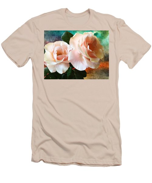 Spring Roses Men's T-Shirt (Slim Fit) by Gabriella Weninger - David