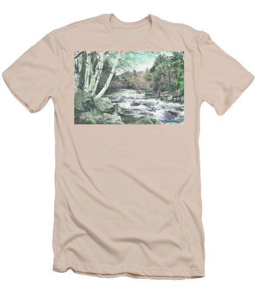 Spring Runoff Men's T-Shirt (Athletic Fit)