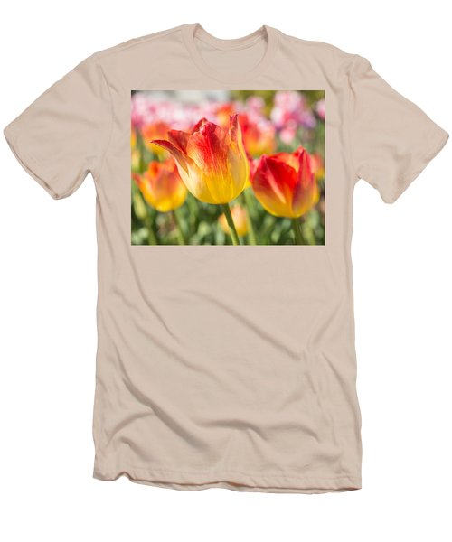 Men's T-Shirt (Athletic Fit) featuring the photograph Spring Touches My Soul by Julie Andel