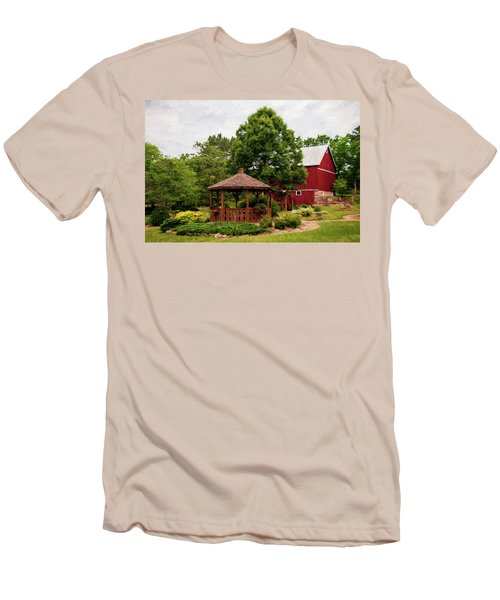 Men's T-Shirt (Slim Fit) featuring the photograph Springwater Park by Trey Foerster