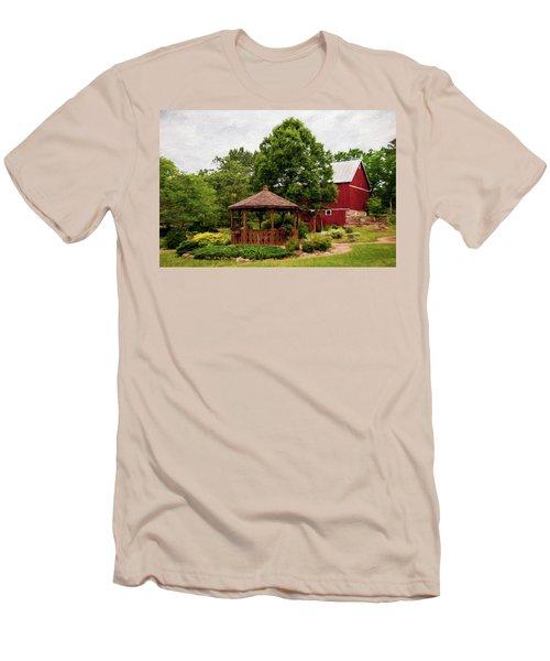 Springwater Park Men's T-Shirt (Athletic Fit)