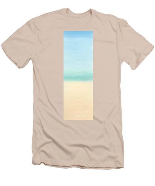 St Thomas #1 Seascape Landscape Original Fine Art Acrylic On Canvas Men's T-Shirt (Athletic Fit)