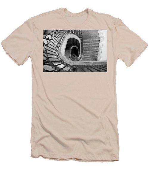 Staircase Spot On  Men's T-Shirt (Athletic Fit)